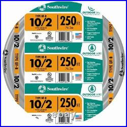 10/2 UF-B x 250' Southwire Underground Feeder Cable