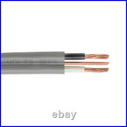 100' 6/2 Copper UF-B Wire With Ground Underground Feeder Cable Gray 600V
