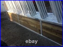 15 Foot Feed Barriers Cattle Sheep Silage Feeders