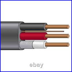 150' 10/3 UF-B Wire Copper Underground Feeder Cable With Ground Gray 600V