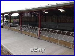 15ft Cattle Feed Barriers Feeder Gate Galvanised