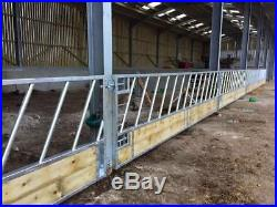 20ft Cattle Feed Barriers Feeder Gate Galvanised