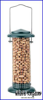 3 x Deluxe Heritage Wild Bird Hanging Nut Feeder Peanut Garden Feeders Wire