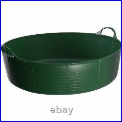 35l Green Shallow Genuine Tub Trug, Trug, Feeder, Horse, Animal