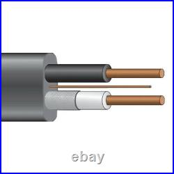 400' 12/2 UF-B Wire with Ground Copper Underground Feeder Cable Gray 600V