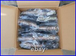 50 x Adjustable Springs Feeder for chickens, ducks, pheasants, poultry