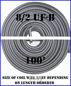 8/2 UF-B x 100' Southwire Underground Feeder Cable