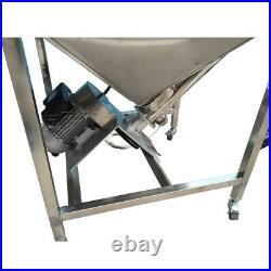 98 inch Powder Screw Vibrating Hopper Inclined Conveyor machine Auger Feeder