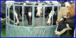 Bateman HEAVY DUTY Cattle Ring Silage Hay Feeder with 610mm Skirt Price Inc Vat