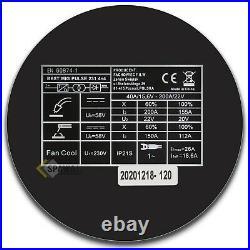 Best MIG MIG/MAG TIG Dual Pulse SYNERGIE 4in1 Inverter Welder 200Amp 4x4 Feeder