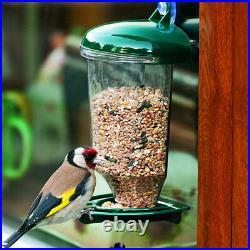 Bird Feeder Window Ledge Wildlife Pet Feeding Station Nature Plastic Outdoor