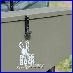 Boss Buck BB-1.80 80-Pound Capacity Non-Typical ATV Feed Spreader and Seeder