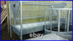 Brand NEW 2.5 Meter Portable Bateman Hayrack & Trough Farm Feeder Cattle