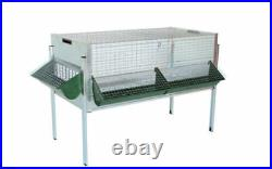 Cage Fattening Chicks Quail 100x55x35h With Base -mouse 3 Feeders Chickens