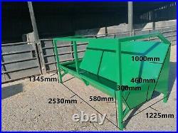 Cattle feed trough, feeder, 8ft, £635 + VAT