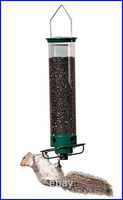 Droll Yankees Flipper 4 Port Hanging Bird Feeder- withPower Stick & Power Adapter