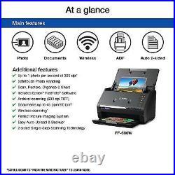 Epson Fastfoto Ff-680w Wireless High Speed Photo & Document Scanner Auto Feeder