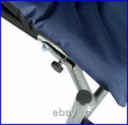 Feeder Fishing Armchair, Portable Fishing Chair Padded UK Stock Fast Disp