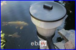 Fisch & Koi Futterautomat 7 Liter Futterspender für Pellet Aquaforte