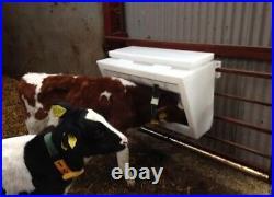 Gate Creep Feeder With Bird Flaps calves, lambs, goats
