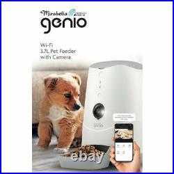 Genio WiFi Smart Automatic 3.7L Pet Feeder With Camera Food Dispenser Cat Dog AU
