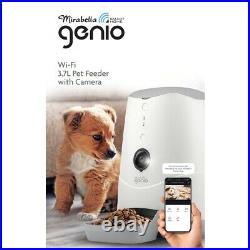 Genio WiFi Smart Automatic 3.7L Pet Feeder With Camera Food Dispenser Cat Dog FF