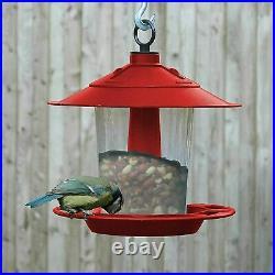 Hanging Wild Bird Feeder Seed Nut Garden Feeding Station Birds Seed Dispenser