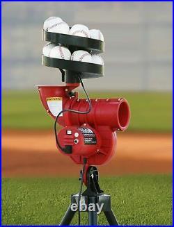 Heater Slider 60mph Lite-Ball Pitching Machine and Feeder SL129BB