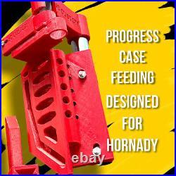 Hornady LNL AP Reloading Press Case Feeder, Complete Progress Case Feeding System