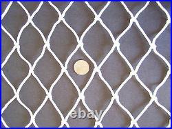 Horse Hay Feeder Nylon large Round Bale Horse Hay #48 Netting 2 Net 20' x 14
