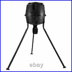 Moultrie 13281 30 Gallon Drum Directional Tripod Fish & Deer Feeder with Timer