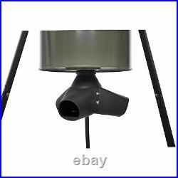 Moultrie 13375 55 Gallon Drum Gravity Tripod Deer Corn & Protein Pellet Feeder