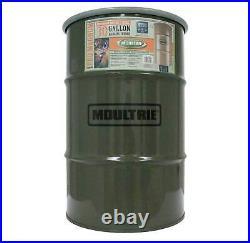 Moultrie 30 Gal Pro Magnum 360° Hanging Metal Barrel Deer Game Feeder with Timer