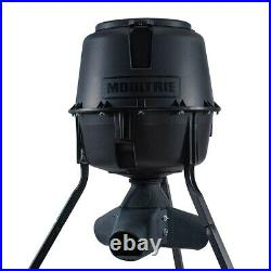 Moultrie 30 Gallon Drum Gravity Tripod Wild Game Fish & Deer Feeder (2 Pack)