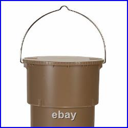 Moultrie 5 gal Hanging Deer Game Feeder with Programmable Timer, No Assembly, 2pk