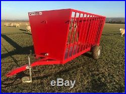 NEW Livestock trailed feed trailer, Sheep feeder, made to order