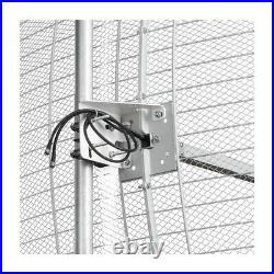 Parabolic MIMO antenna 800-2700 MHz gain 27 dB. Reflector+feeder+mount set