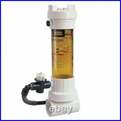 Rainbow Chlorine/Bromine Pool Dosing Chemical Feeder for all Swimming Pools