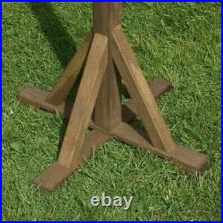 Rowlinson Wooden Lechlade Bird Table Free Standing House Feeder Square Roof