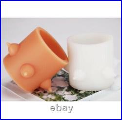 Silicone Puppy Feeder 5 Nipples Puppy/kitten Milk Bowl 500ml