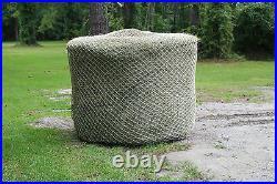 Slow Horse Hay Round 5' x 5' Bale Net Feeder Save $$ Eliminates Waste 1 holes