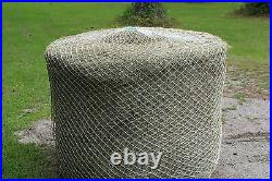 Slow Horse Hay Round Bale Net Feeder Fits 4' x 5' Bales Makes Your Bale Last