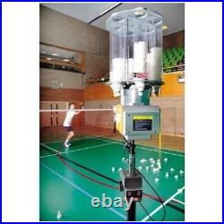 V-328 Practice Partner Badminton Shuttle Feeder Robot Machine & Remote Rrp £2500
