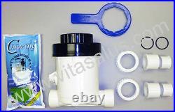 Vitasalus Inline Chlorinator Chlorine Feeder System