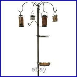 Wild Bird Feeding Station Hanging Feeders Water Bath Table Seed Tray Stabiliser