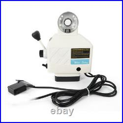 X-Axis Power Feed Milling Machine Fits Bridgeport Milling Machine Feeder 220V